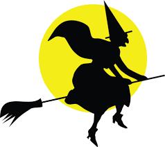 Halloween-sorcière